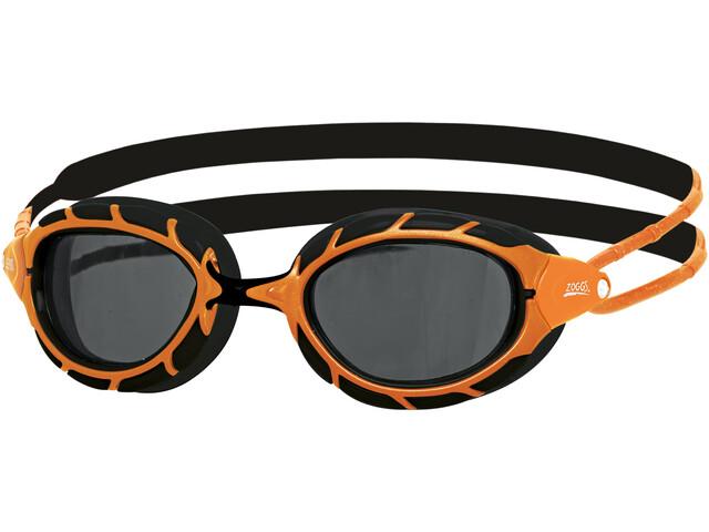 Zoggs Predator Polarized Svømmebriller L, orange/black/smoke